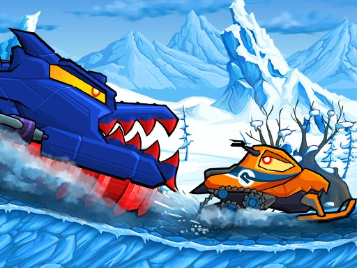 Car Eats Car: Winter Adventure Online